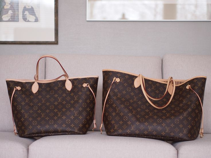 Lindsay's Diaries: Neverfull MM vs. GM (Great photos)