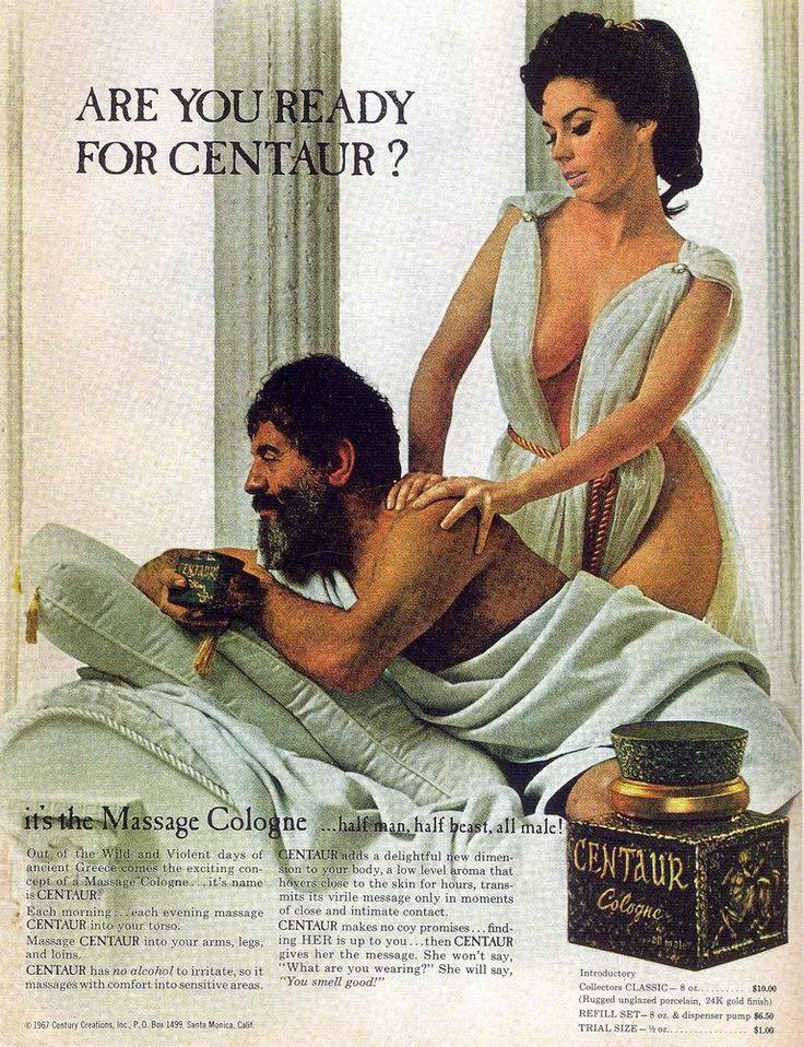 Sexy Vintage Cologne Ad