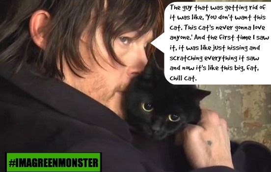 5 Quotes That Tells Us Norman Reedus From The Walking Dead is a Cat Loving Badass!