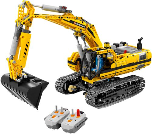 TECHNIC - Motorized Excavator by Lego 8043: 1,123 pieces $849.99 at Toys and Stuff