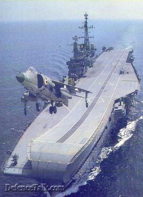 INS VIRAAT (HMS Hermes) by FrigateRN