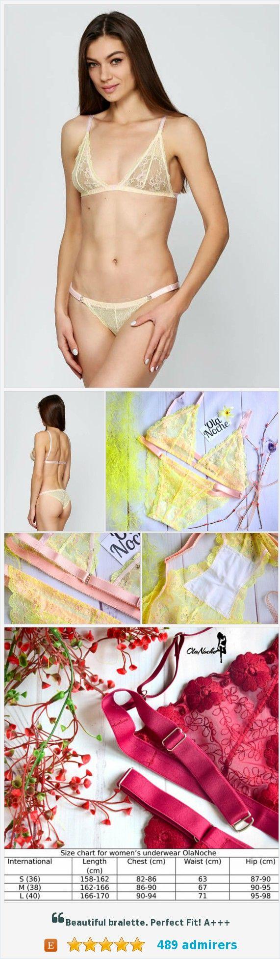 #Florallacebra #Naughtylingerie #Transparentlingerie #Lingerie #Olanoche https://www.etsy.com/OlaNoche/listing/559844875/sexy-lingerie-bralette-panty-set-bra?ref=shop_home_active_16