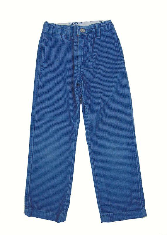 """Pantalón de pana de 4 años de Gocco-6,25€.Prenda de segunda mano """"supernueva"""" de nuestra tienda online. Ropa de la mejores marcas a precios insignificantes www.charamusco.com"""