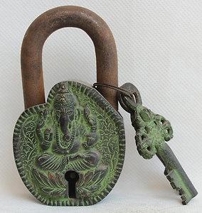 Buddha Padlock & Key