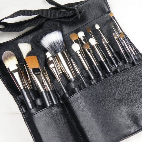 best professional makeup brush set. mac professional makeup artist 22 piece brush brushes set w/apron shoulder strap $129.99 - best i