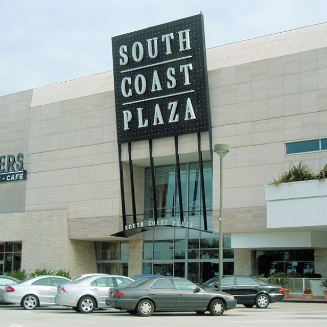 Luxurious SOUTH COAST PLAZA, COSTA MESA, California