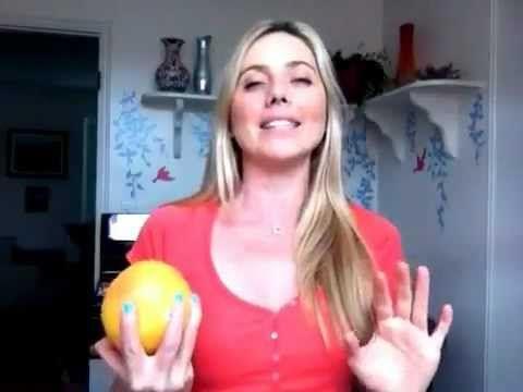 How-to Peel a Grapefruit (easiest way) w/ Laurel House - YouTube