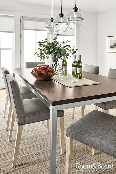 Our Top + Base Program Makes It Easy To Create Your Perfect Dining Table.  Choose