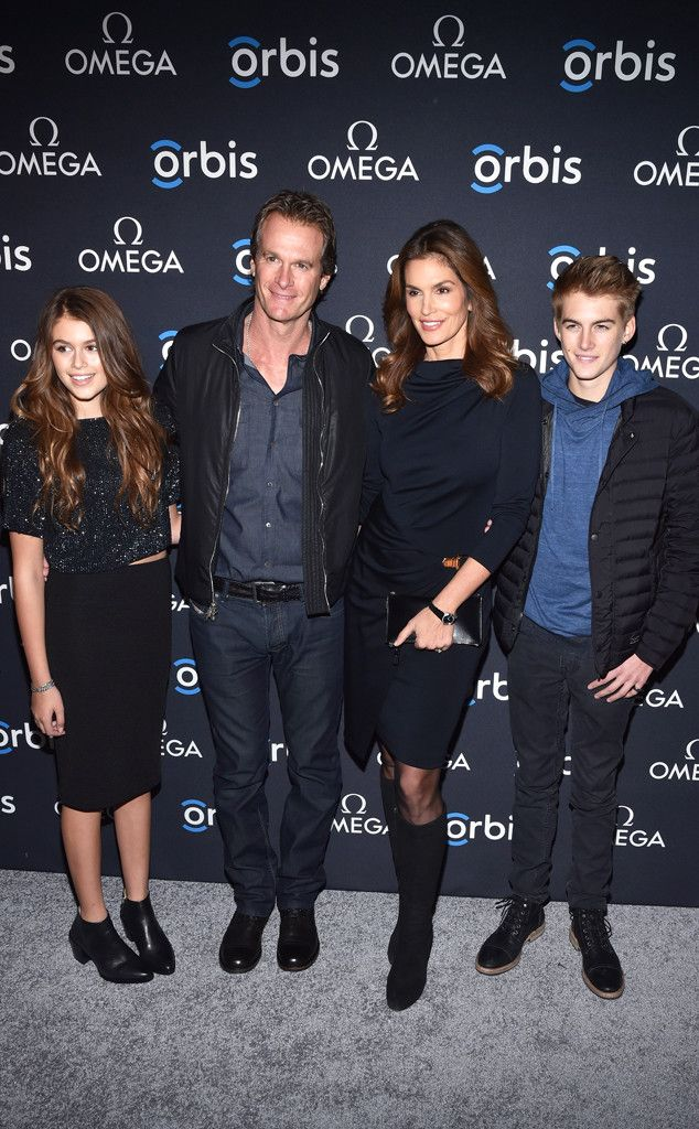 The gorgeous family joins forces at Celebrating Omega and Orbis International's Hospital In The Sky screening at the New York Historical Society.