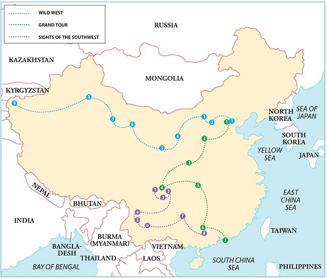 China Itineraries