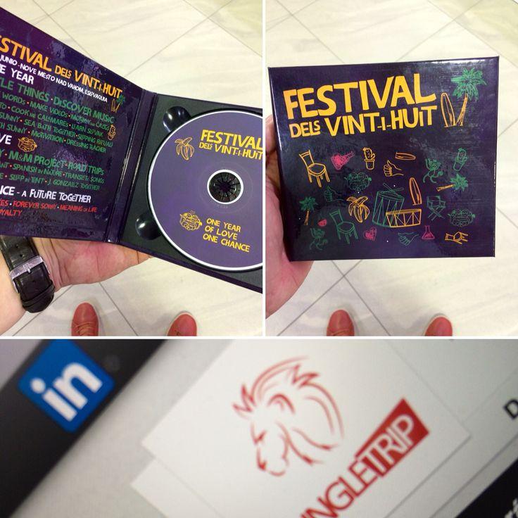 Creative CD Cover & printable CD & poster A2