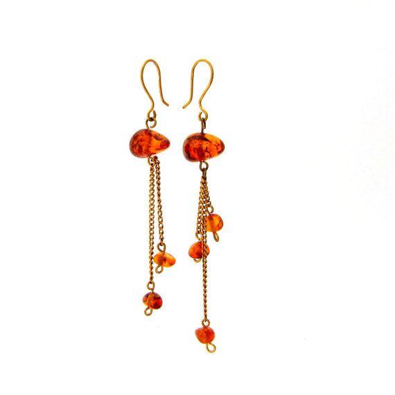 Jewelry earrings Drop jewelry Drop by RussianTreasureHouse on Etsy
