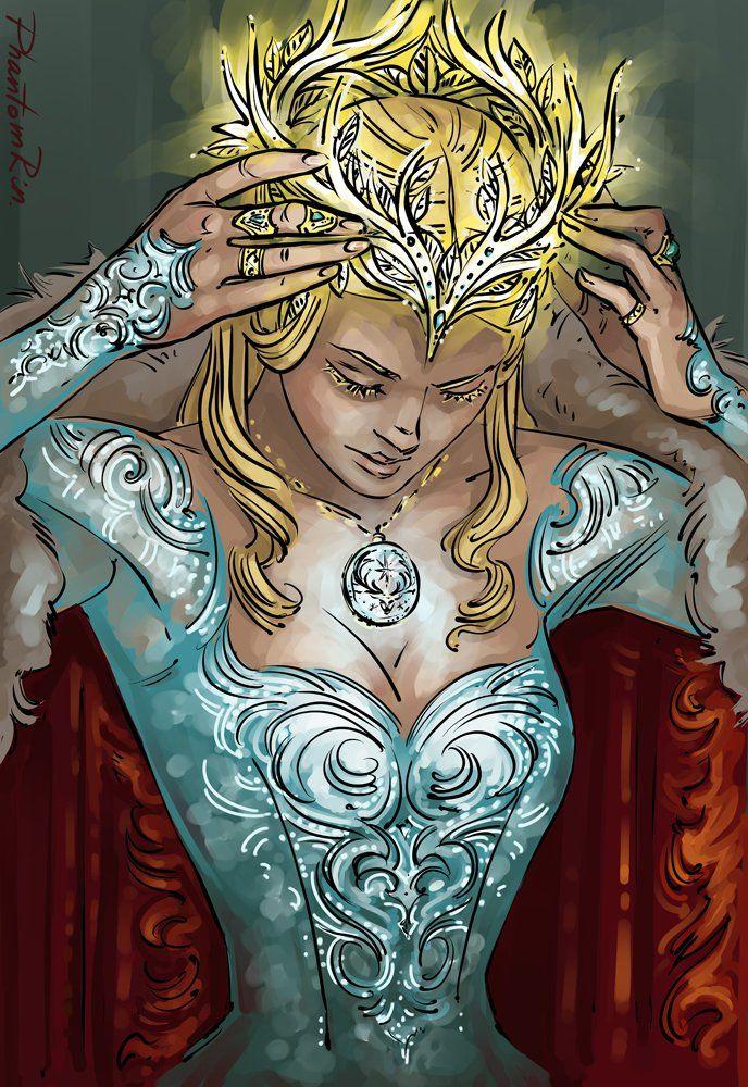 All Hail the Queen - Aelin (Sarah J. Maas)