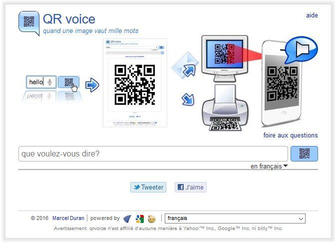 #ClasseTICE - QR Voice, une application pour faire parler ses QR Codes