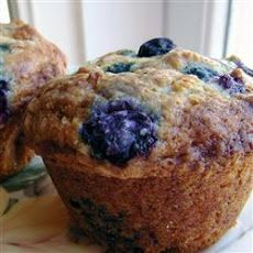 Lactose Free Blueberry Muffins Recipe (as long as you use dairy free butter substitute)