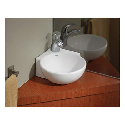 Cheviot Corner Overcounter Or Wall Mount Bath Sink With