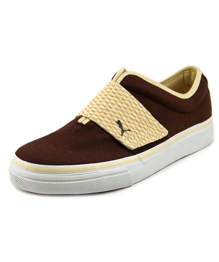 PUMA Puma El Rey Men  Round Toe Canvas Brown Sneakers'. #puma #shoes #sneakers