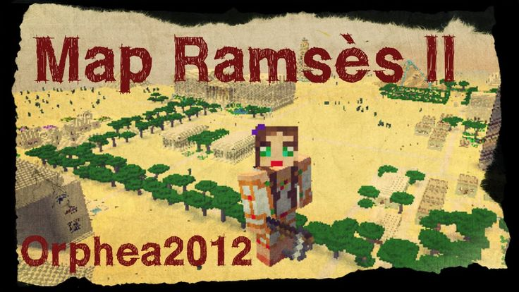 Minecraft | Ep 53 Ramsès II | Mon nouveau skin fait par Marc Phénix