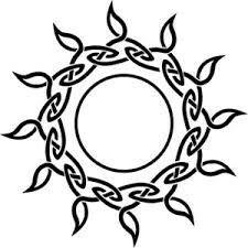 #Celtic #Irish #Gaelic #Ink #Tattoo #tat #Sun #Sky #Knot #Fire