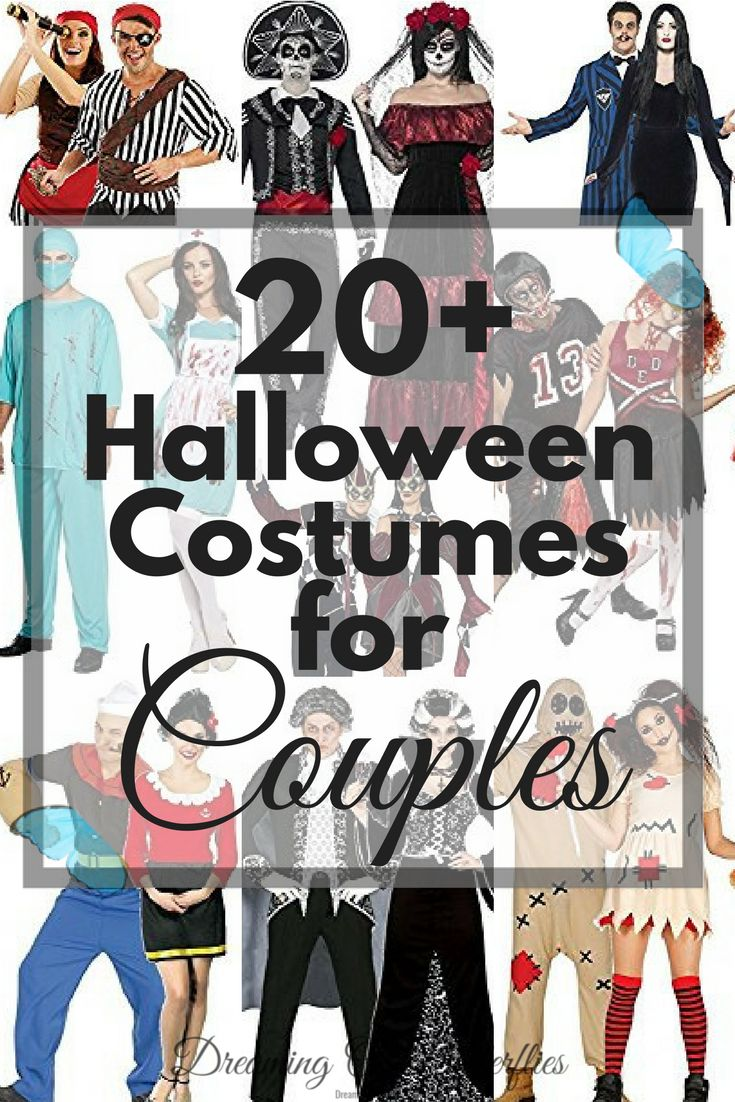 Halloween, is just around the corner. Because every couple needs the perfect costume this year, but not everyone can DIY, or has the time to, we've managed to find and sort out 20+ Halloween Costumes for Couples, that are actually affordable!