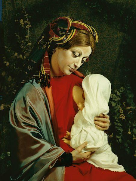 La Grande Madre, Fondazione Nicola Trussardi e Comune di Milano per Expo 2015, Palazzo Reale #campiture