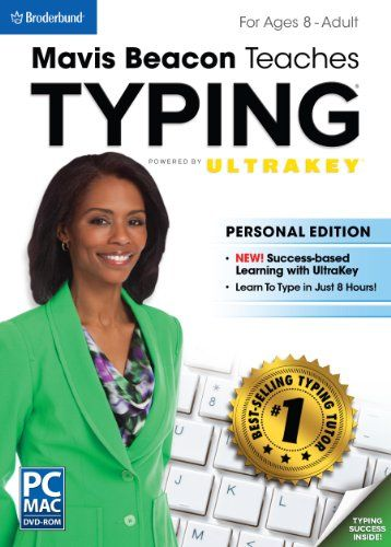 Mavis Beacon Teaches Typing Powered by UltraKey – Personal Edition    http://www.bestcheapsoftware.com/mavis-beacon-teaches-typing-powered-by-ultrakey-personal-edition/