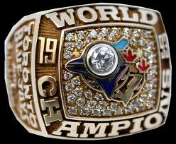 1993 Toronto Blue Jays World Series ring.