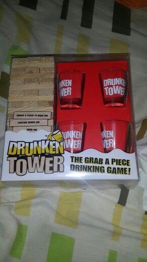 #DrunkenTower weeeeee a Jugar.