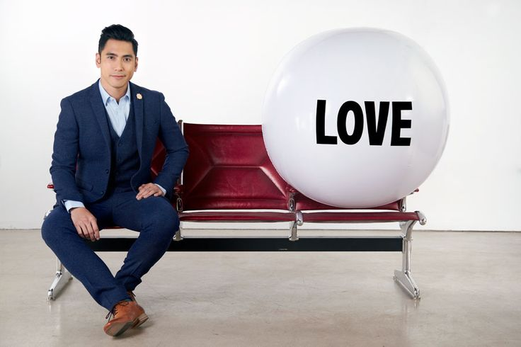 Love is at the heart of everything David Cruz does. He believes, as Big Love Ball does, that we all have the right to legally share our lives with the person we love regardless of their gender. | Photo by Melissa Coulier