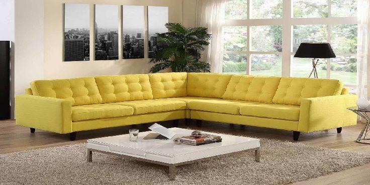 Best 25+ Yellow leather sofas ideas on Pinterest ...