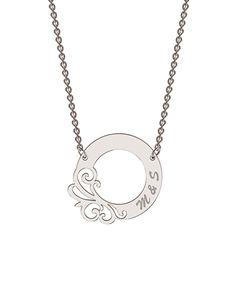 MeMi: MeMi Circle Personalised Necklace!