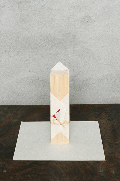 """New Year decorations / Moku"" | Origata Design Institute"