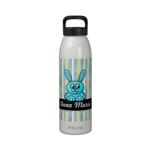 Bunny Rabbit Blue Stripes Personalized Water Bottl Reusable Water Bottle lowest price for you. In addition you can compare price with another store and read helpful reviews. BuyThis DealsOnline Secure Check out Quick and Easy...
