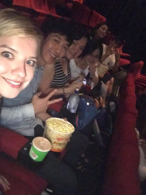 Monthly excursion - The Beauty and the Beast at Broadway cinema  #scotsenglish #excursion #BeautyAndTheBeast