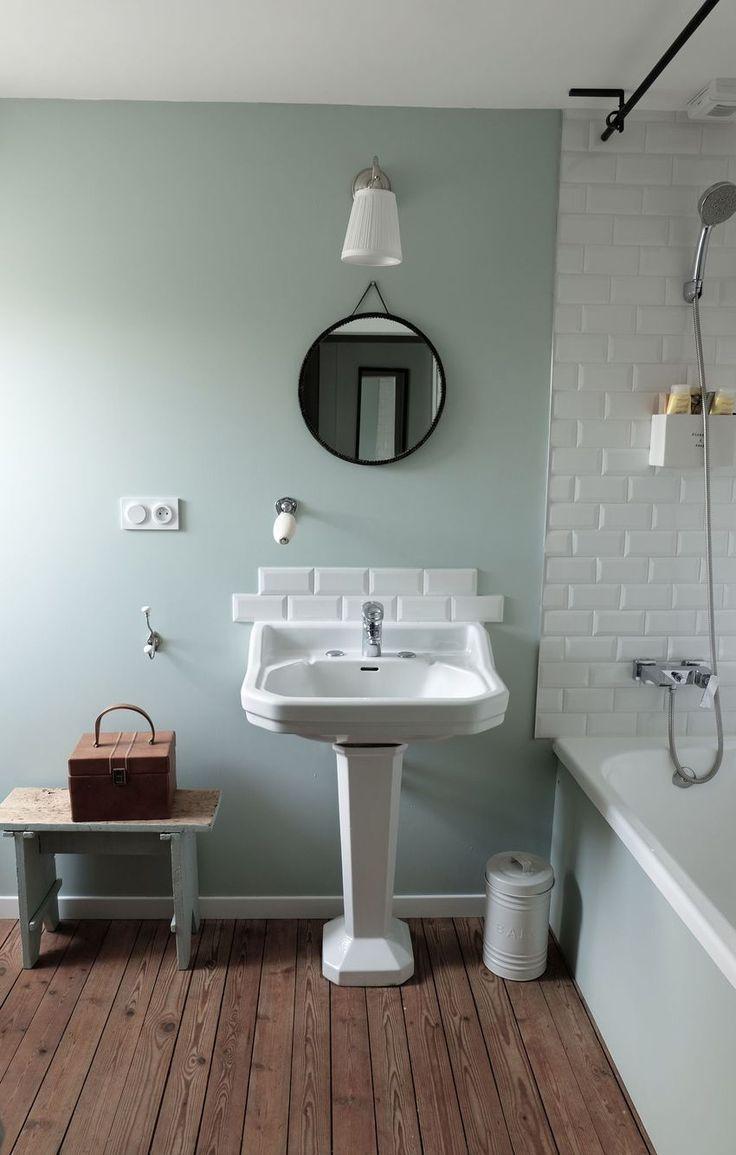 Salle de bain déco vintage et rétro - #bain #de #déco #retro