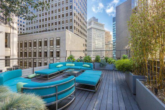 San Francisco roof top terrace