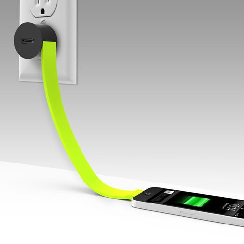 TYLT's Band Wall Charger is one less cable to worry about getting tangled in the spaghetti-like chaos inside your bag