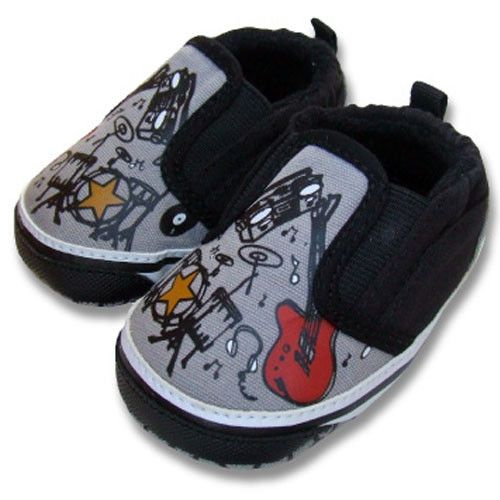 rocker baby boy clothes | ... Rocker Slip On Crib Shoes : hip baby gifts infant psychobaby cool baby