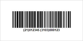 New Barcode GS1-128