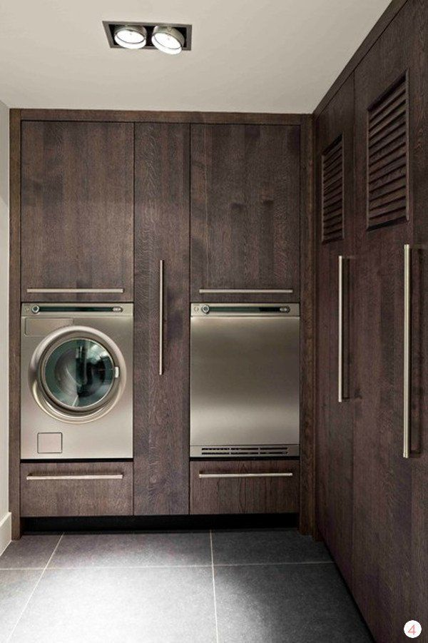 25 best ideas about modern laundry rooms on pinterest. Black Bedroom Furniture Sets. Home Design Ideas