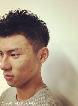 Fresh Men's Short Hairstyle | ヘアカタログ|ヘアスタイル|表参道、外苑前の美容室assort(アソート)
