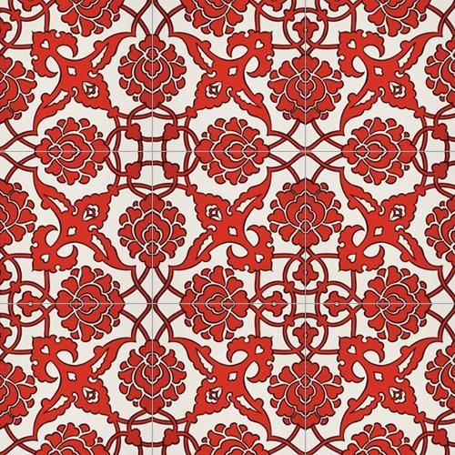 İznik tile.  Turkish.  I believe the link is to an business that reproduces tiles.