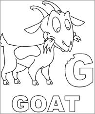 Goat Coloring Page babygoatfarm Goatie Goats and their chicks Coloring pages Color quotes