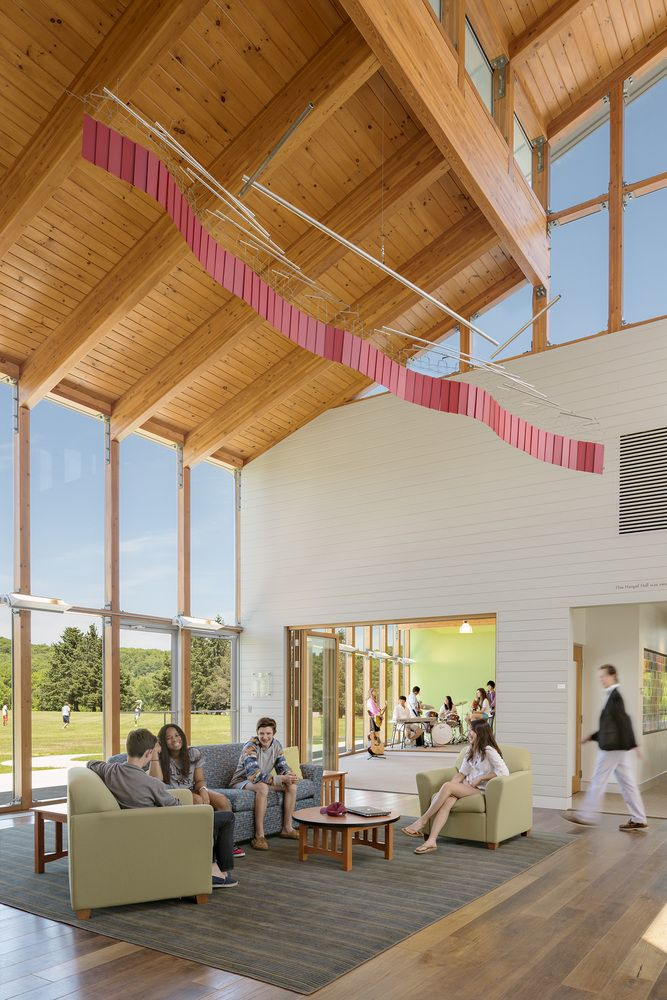 Gallery Of Indian Mountain School Student Center Flansburgh Architects
