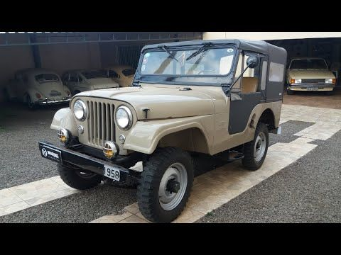 Jeep Willys 1958 A Venda Magnus Garagem Youtube Em 2020 Jeep