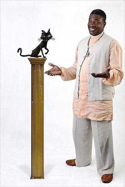 Coraline e o Mundo Secreto : Keith David como O Gato