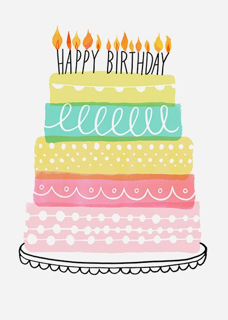 Margaret Berg Art : Illustration : birthday / celebrate