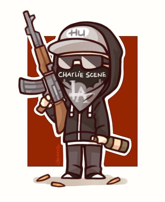 Hollywood Undead ❤️ Charlie Scene ☺️ Chibi