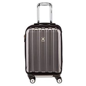 #4. Delsey helium aero international carry-on suitcase