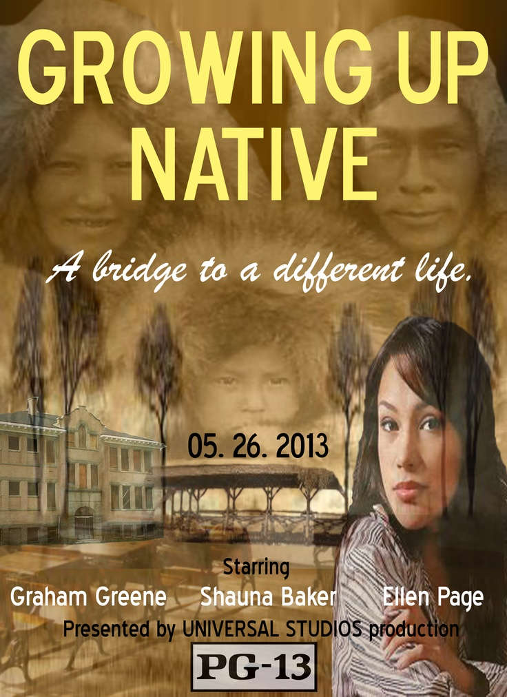 Growing Up Native - Poster